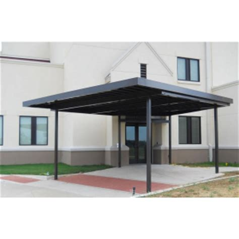 victory awnings walkway covers commercial metal products victory awning sweets