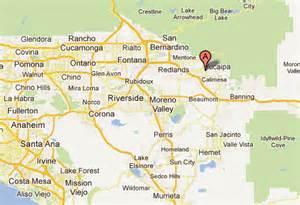 yucaipa california map