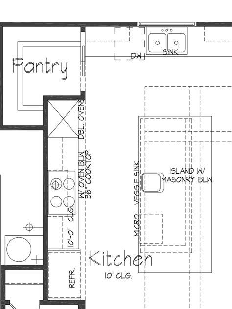 floor plans for kitchens custom kitchen floor plans tx palladian residential llc