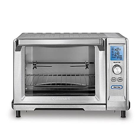 toaster bed bath and beyond cuisinart 174 stainless steel 6 slice rotisserie convection toaster oven broiler bed