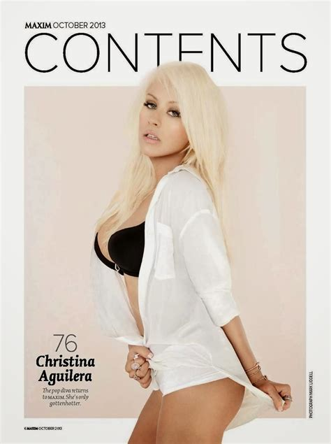 Aguilera Pictures From Maxim Magazine by High Quality Aguilera Photoshoot In Maxim