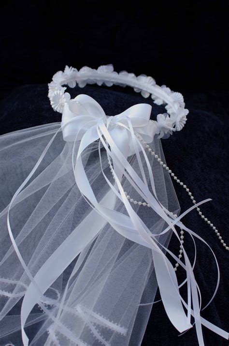 Mahkota Tiara Crown Bridal Shower Small With Veil Without Veil Sc0017 holy communion or flower bridal veil crown halo
