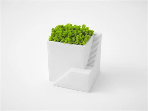 Desk Planter by Desktop Gardening Ienami Is A House Shaped Planter For Your Desk Spoon Tamago