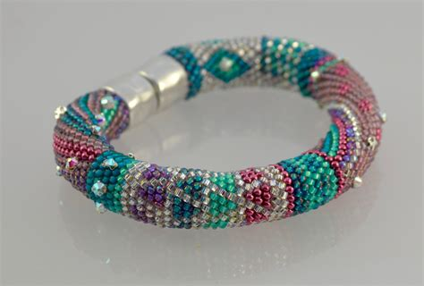 bead bracelet kits single stitch bead crochet bracelet kit
