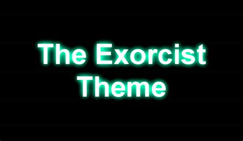 theme song exorcist the exorcist theme song hd quality youtube