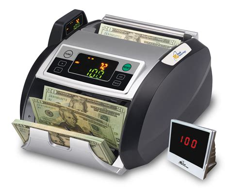 rbc 2100 bill counter with external display system