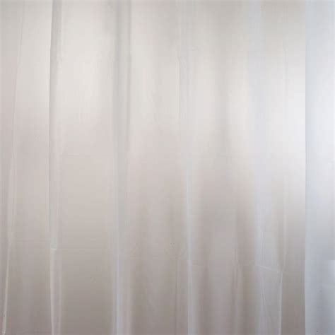 Eva Shower Curtain Liner In Clear Frost 14752 The Home Depot