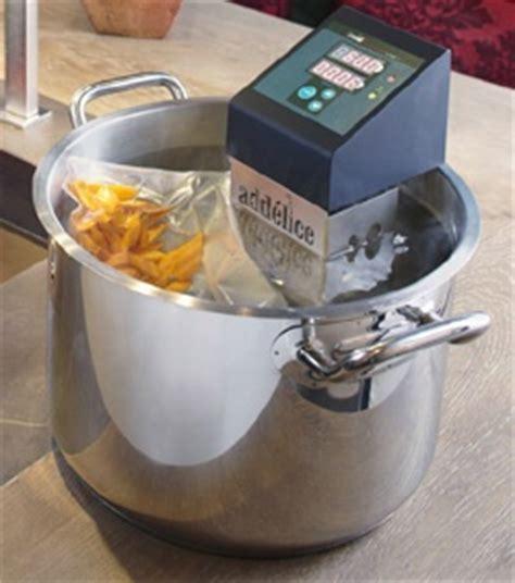 formation cuisine sous vide thermoplongeur pour cuisson sous vide