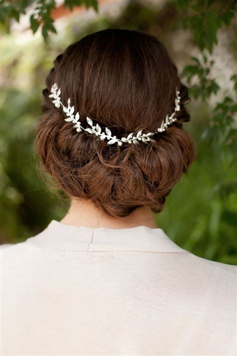 Wedding Hair With Bling by 32 Lovely And Refined Bridal Hair Vine Concepts Decor
