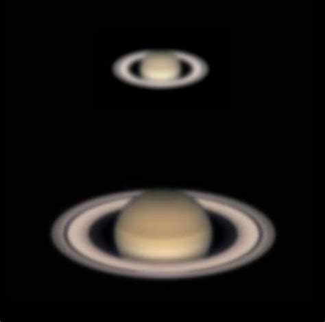 saturn on telescope viewing saturn the planet rings and moons