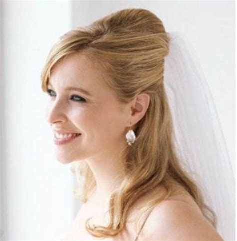 bridal hairstyles long hair half up styles fashion female