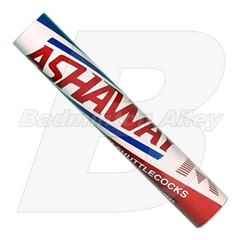 Raket Ashaway Power Platinum ashaway platinum international professional feather shuttlecock