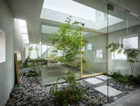 desain rumah dengan taman di dalam desain taman dalam rumah minimalis dengan kesan sejuk