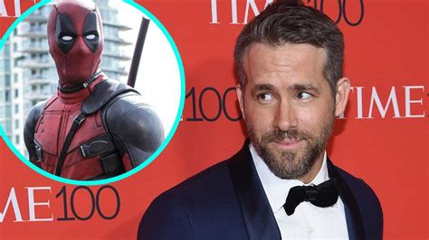 ryan reynolds  deadpool    happen heres  entertainment tonight