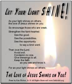 light bright poem light inspirational quotes and poems quotesgram