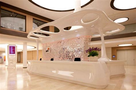 Luxury Reception Desk Build Reception Counter Office Furniture