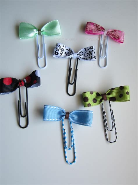 Paper Clip Craft Ideas - inato lang cuisine and more bow paper clip bookmarks