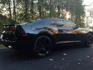 2010 blacked out camaro rs 6 speed manual camaro5 chevy