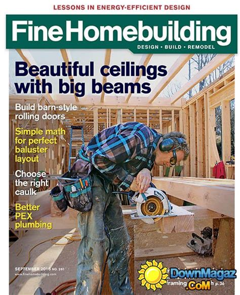 fine homebuilding magazine fine homebuilding september 2016 187 download pdf