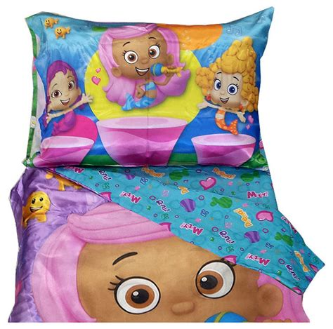 bubble guppies toddler bed set bubble guppies toddler bedding set molly dance