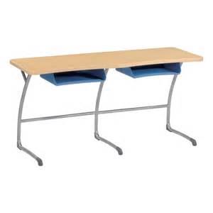College Student Desks by Virco Zuma Cantilever School Desk W Plastic Book Boxes