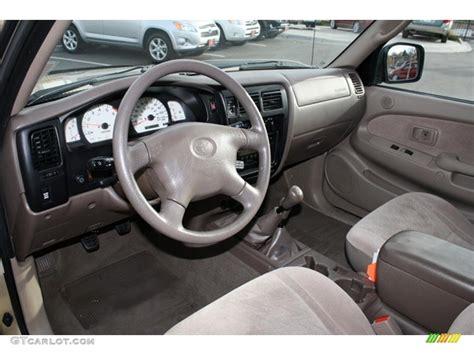 2001 Toyota Tacoma Interior oak beige interior 2001 toyota tacoma v6 trd xtracab 4x4