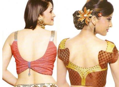 design pattern blouse back neck blouse back neck designs for border sarees