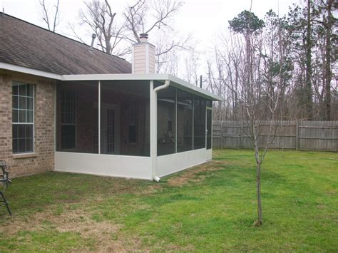 patio with screen porch in magnolia tx lone