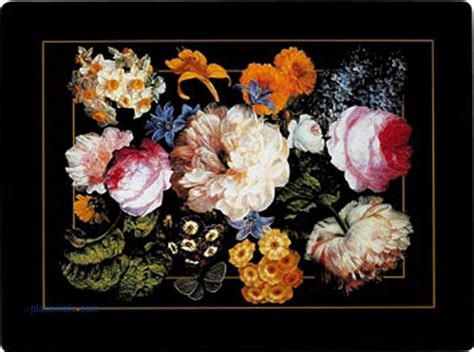 Decoupage Placemats - placemats clare decoupage placemats floral