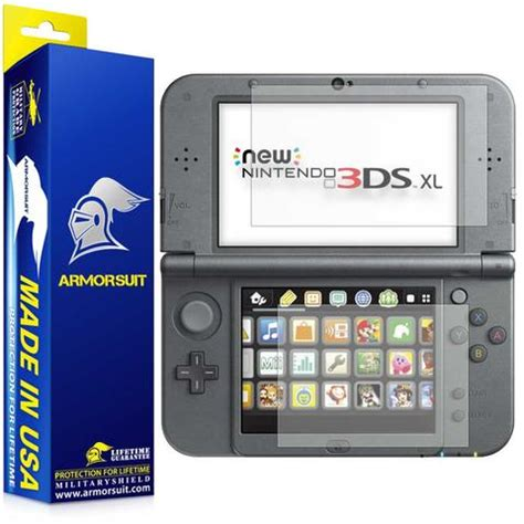 Screen Protector New 3ds Xl nintendo 3ds xl 2015 armorsuit