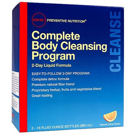 Toxin Rid 10 Day Detox Gnc by Buy Gnc Pn Complete Cleansing Program 2 Day Formula