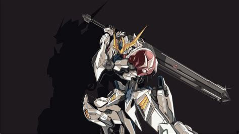 wallpaper gundam barbatos anime wallpaper hd gundam barbatos wallpaper at
