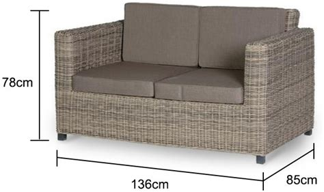 rattan two seater sofa two seater rattan outdoor sofa garden chairs