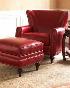 Leather Reading Chair And Ottoman Design Ideas Vintage Oxblood Leather Wingback Armchair Chesterfield Classic Rustic