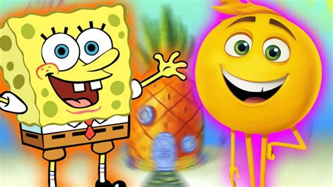 emoji film alien emoji movie and spongebob squarepants finger family songs