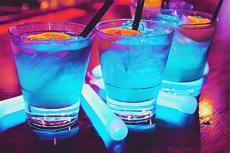 colorful alcoholic drinks bar blue colorful image 705599 on favim