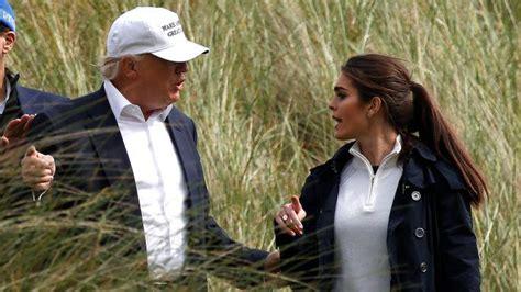 hope hicks golf hope hicks a former teen model is running trump s media