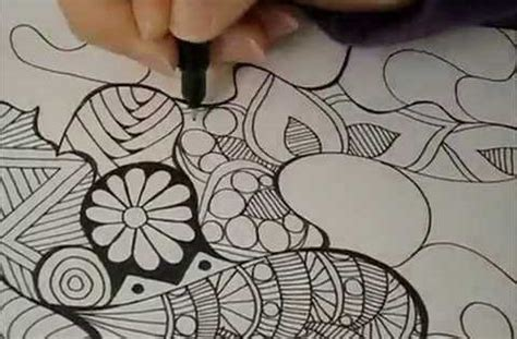 tangled doodle art in time lapse coloring videos and tangled doodle art in time lapse videos tangled and