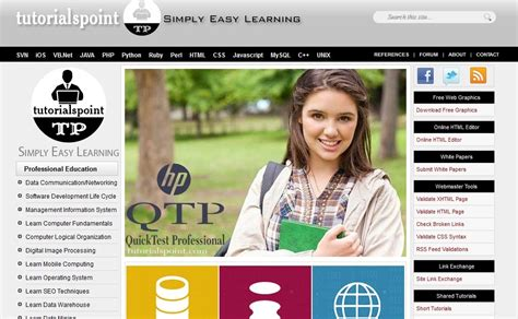tutorialspoint web technology top 6 websites to learn programming languages wanna be