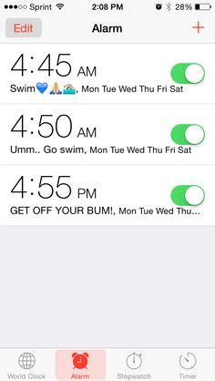 Iphone Alarm Meme - 1000 images about swimming on pinterest swim team swim