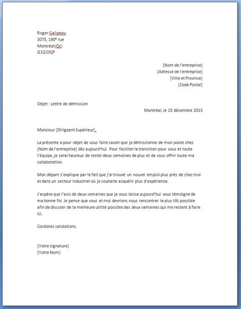 Exemple De Lettre De Démission Btp Lettre De Demission D Un Cdd Application Letter