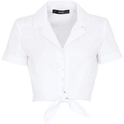 Crop Shirt cropped white collared shirt is shirt