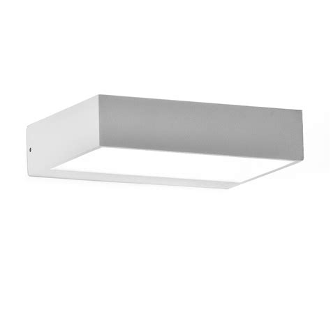 applique da interno applique lada da parete in alluminio led 6 watt design