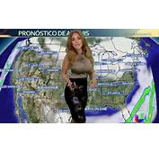 Weather Girl Jackie Guerrido Sets Temperatures Soaring Is
