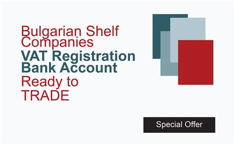 Offshore Shelf Company With Bank Account by Benefin Incorporate Bulgaria Bulgarian Company