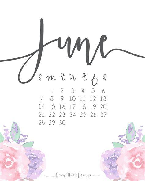 Calendar October 2017 June 2018 June 2018 Calendar Monthly Calendar 2017