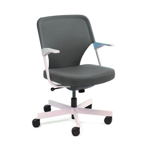 gray 5th avenue chair modern office furniture poppin
