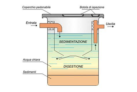 dimensionamento vasche imhoff fossa biologica come funziona e normativa tuttogreen