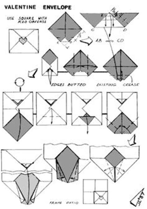 How To Fold An Envelope Out Of A4 Paper - 1000 images about origami envelopes letter folding on