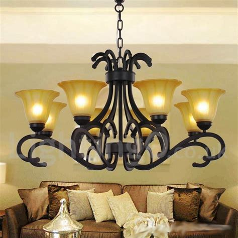 dining room candle chandelier 8 light black contemporary living room dining room candle